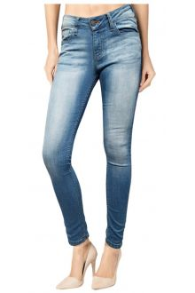 Skinny Light Wash Blue Denim