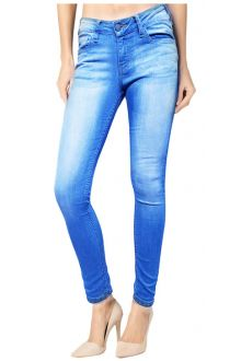 Skinny Light Wash Sky Blue Denim