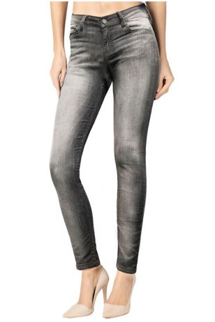 Skinny Light Wash Grey Denim