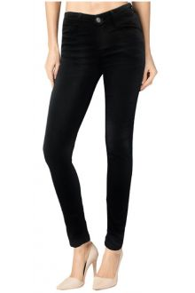 Slim Raw Black Denim