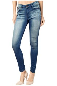 Slim Light Wash Blue Denim