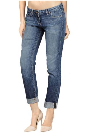 Boyfriend Medium Wash blue Denim